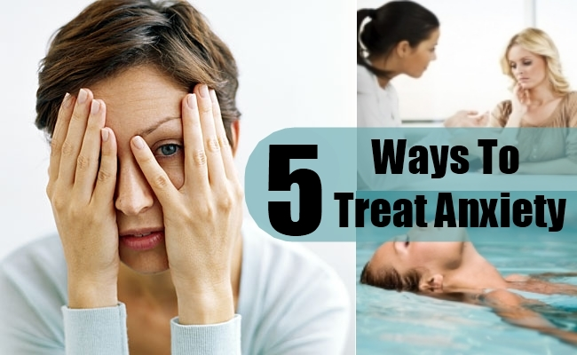 Ways To Treat Anxiety