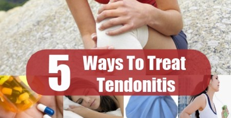 Ways To Treat Tendonitis