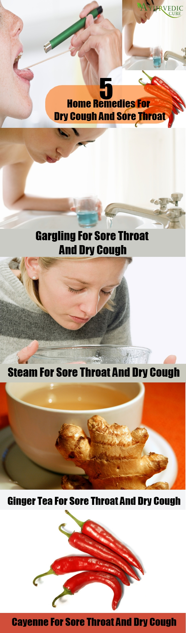 Dry Cough And Sore Throat Home Remedies Natural