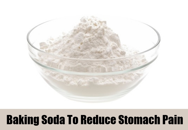 Baking Soda To Reduce Stomach Pain