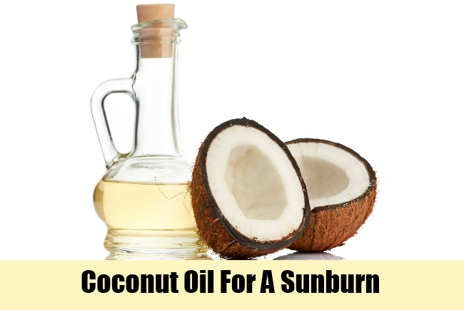 Coconut Oil For A Sunburn