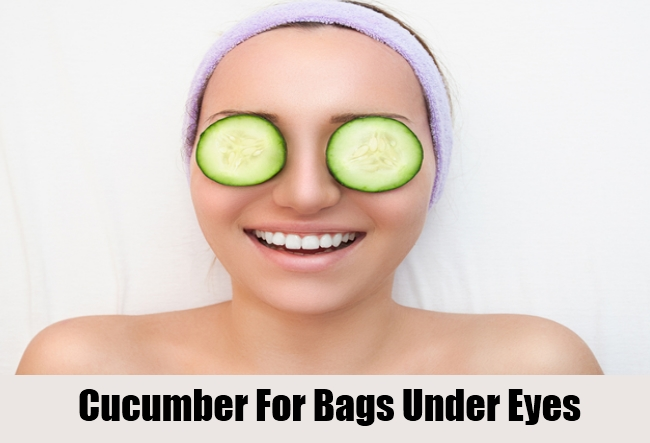 Cucumber For Bags Under Eyes