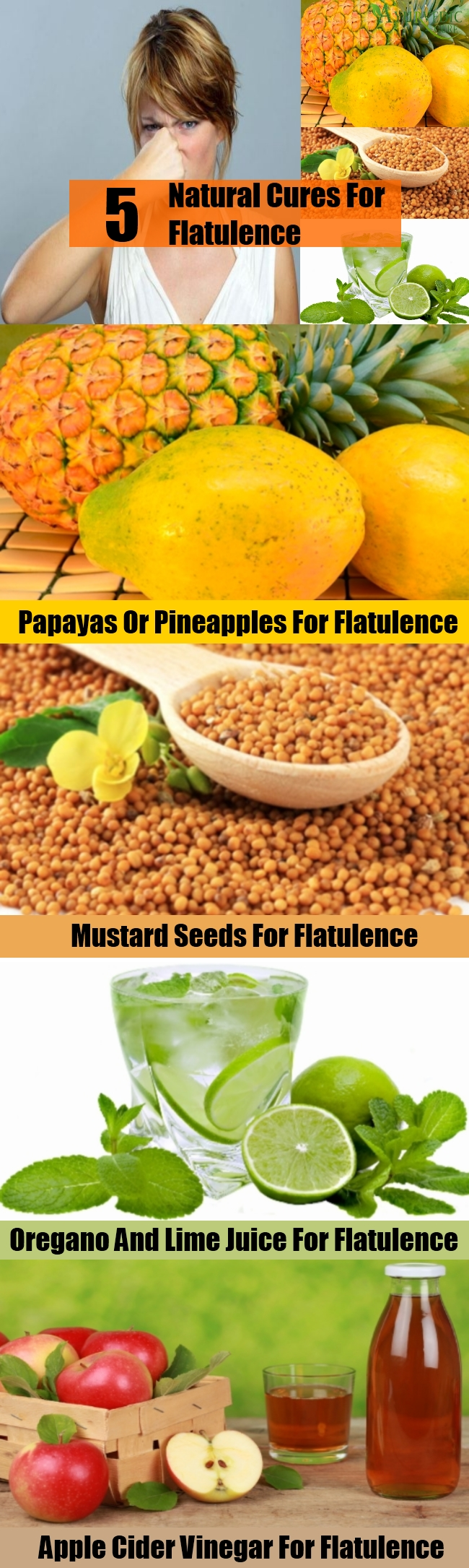Easy Natural Cures For Flatulence
