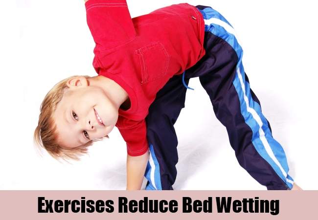 Exercises Reduce Bed Wetting