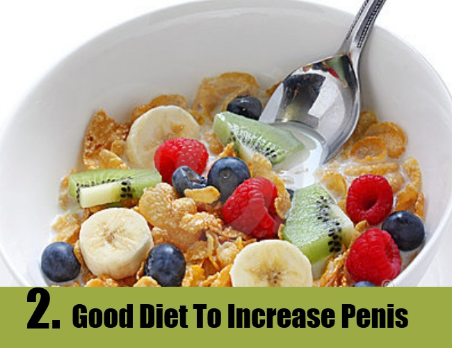 What foods are good for penis