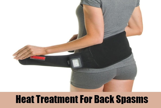 Heat Treatment For Back Spasms