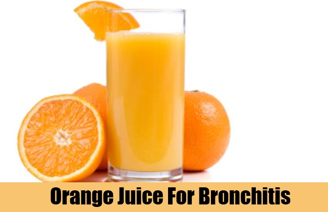 Orange Juice For Bronchitis