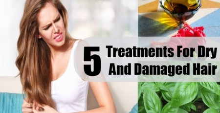 Treatments For Dry And Damaged Hair