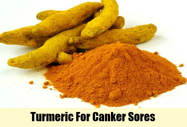 Turmeric For Canker Sores