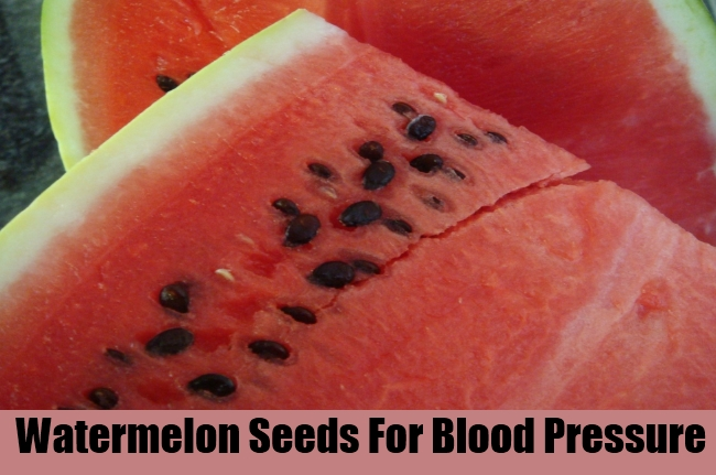 Watermelon Seeds For Blood Pressure