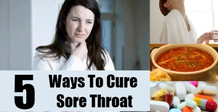 Ways To Cure Sore Throat