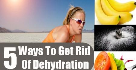 Ways To Get Rid Of Dehydration