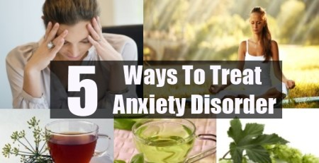 Ways To Treat Anxiety Disorder