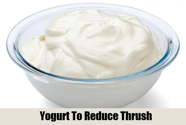 Yogurt To Reduce Thrush