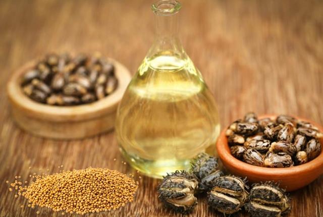 Mustard And Castor Oil