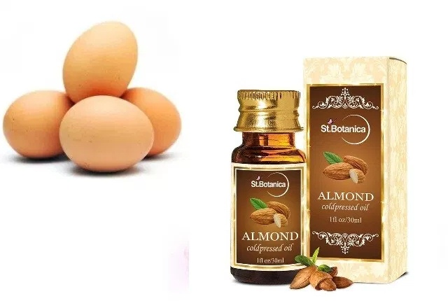 Egg And Almond Oil Hair Mask