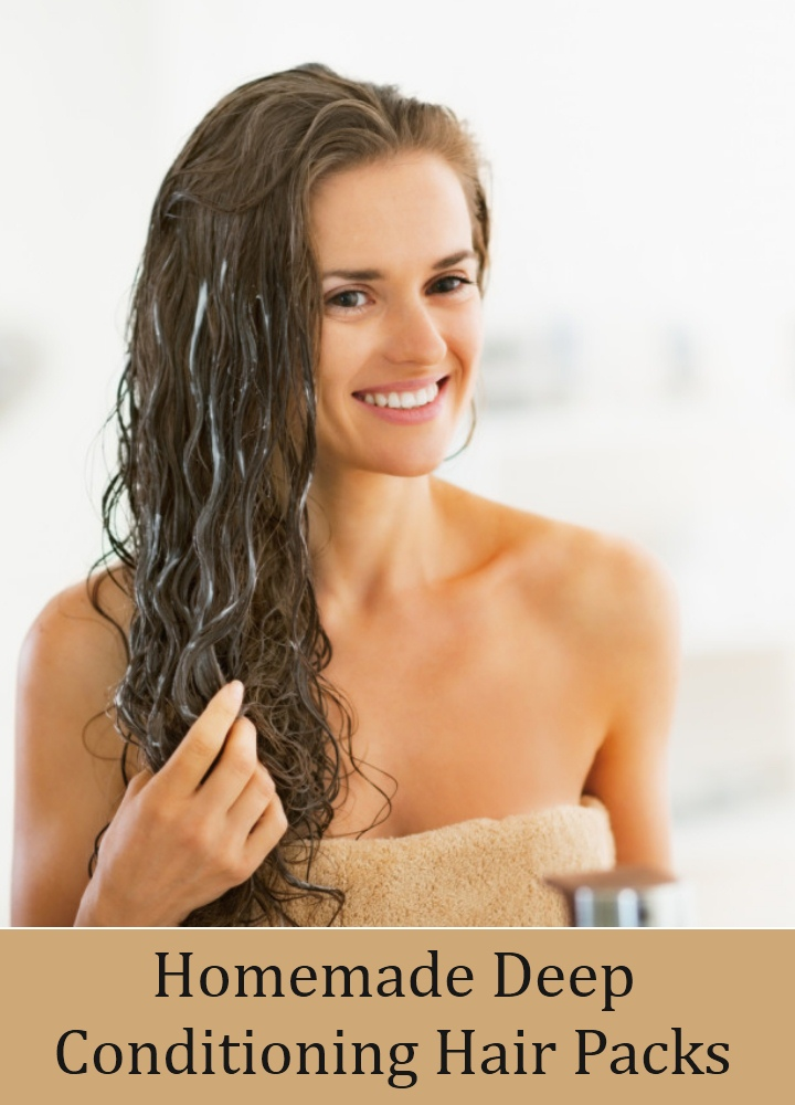 Homemade Deep Conditioning Hair Packs