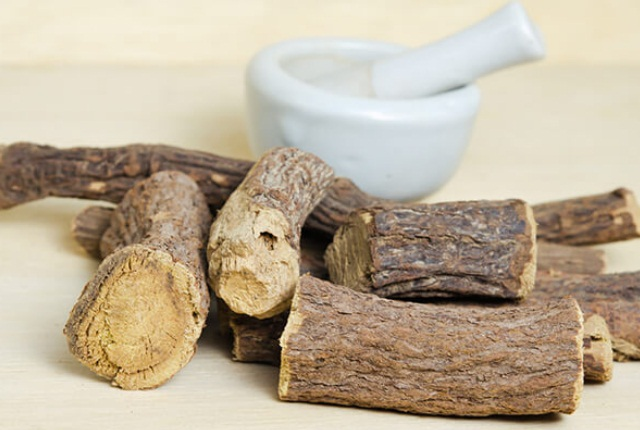 Make Solution With Licorice Root