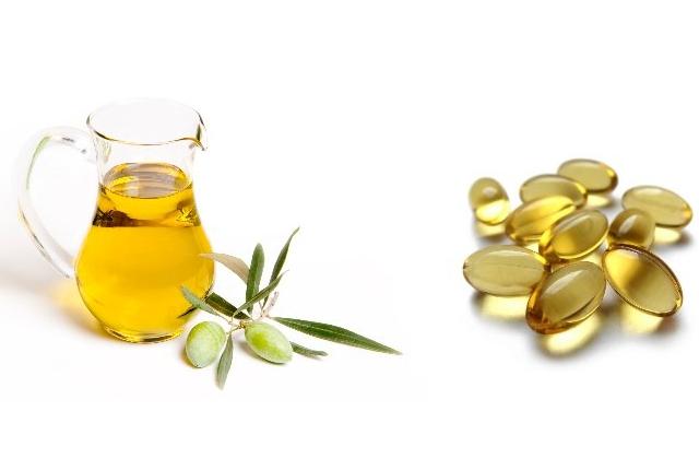 Olive Oil And Vitamin E Oil Wrap