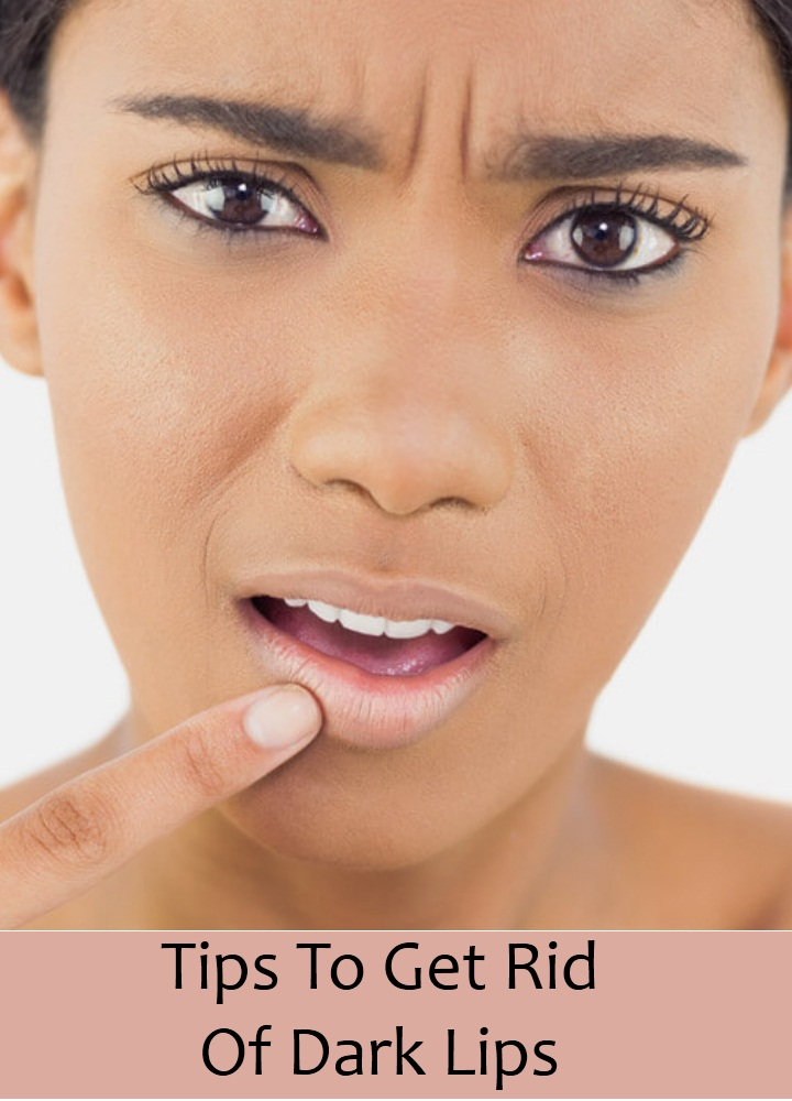 Tips To Get Rid Of Dark Lips