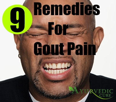 9 Remedies For Gout Pain