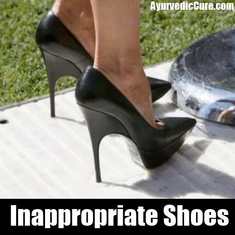 Inappropriate Shoes