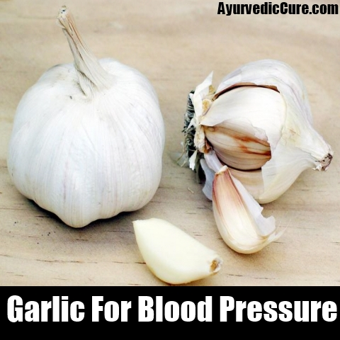 garlic blood pressure