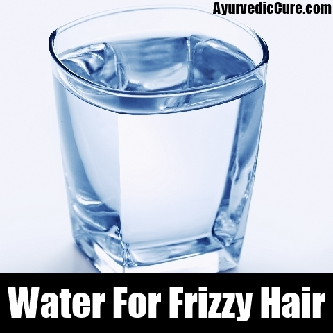 water For Frizzy Hair