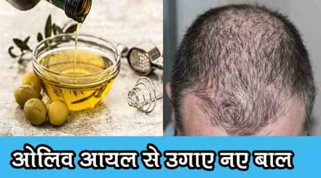 Olive oil for hair growth in hindi