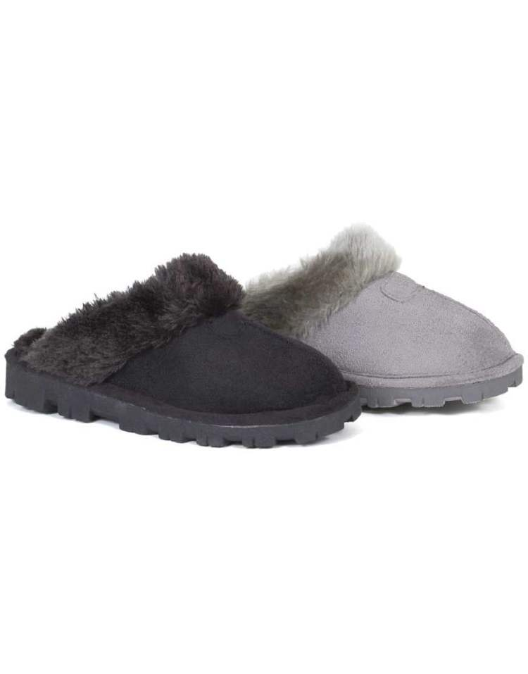 Womens Hard Sole Slippers