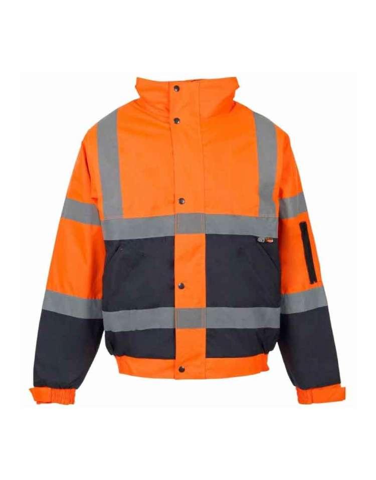 hiviz bomber jacket