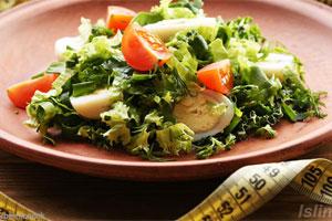 حمية القائمة لفقدان الوزن