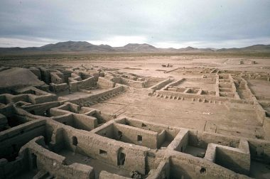 Turkey Pen Plaza at Paquime (photo courtesy of the Amerind Foundation)