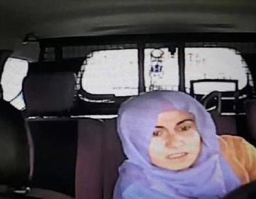 Hicablı qadının terror törətdiyi anın görüntüsü – özü də qorxur – VİDEO – FOTO