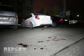 Bakıda baş vermiş kütləvi davada iki nəfər bıçaqlanıb