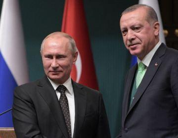 Erdoğan və Putin Türkiyənin Suriyadakı hücumunu müzakirə ediblər