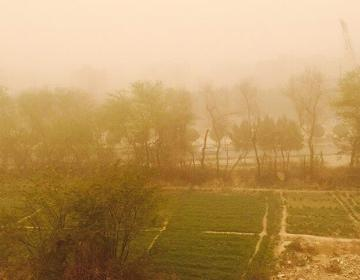 İranda toz fırtınası: 120 nəfər xəsarət alıb