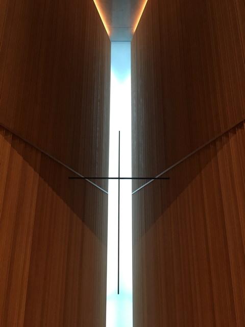 広尾で安藤忠雄 21世紀キリスト教会