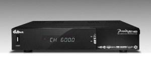 Atualização Duosat prodigy HD v.10.6 - 14/05/2017