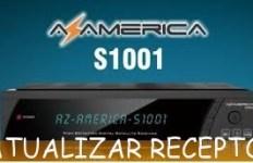 Atualização Azamerica S1001 HD Hoje 08/06/2016