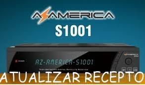ULTIMA ATUALIZAÇÃO AZAMERICA S1001 + ATIVADOR SKS 58W - 14/08/2017