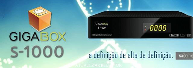 Resultado de imagem para GIGABOX S1000