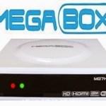 MEGABOX MG7 HD PLUS ATUALIZAÇÃO V.1.60 - 2018