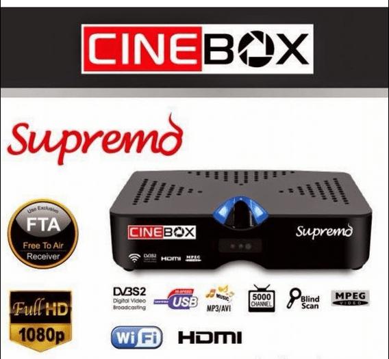 ATUALIZAÇÃO CINEBOX SUPREMO HD - 18 JULHO 2017
