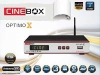 NOVA ATUALIZAÇÃO CINEBOX OPTIMO X - 07 SETEMBRO 2017