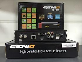 Atualização Genio G 1020 v.1.029 - junho 2017