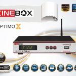 Nova atualização Cinebox Optimo x v.18/10/2016 22w ON - Azamericasat