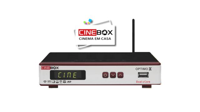 ATUALIZAÇÃO CINEBOX OPTIMO X RETORNO HD - DEZEMBRO 2017
