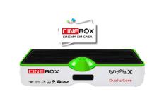 ATUALIZAÇÃO CINEBOX FANTASIA X HDS ON - DEZEMBRO 2017
