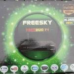 Nova atualização Freesky Freeduo F1 V.2.07 - Canais codificados - 04/01/2017